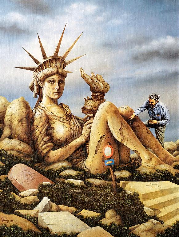 A few word on freedomDi Vogo | contemporary, megic realism, hyperrealism, surrealism print for sale