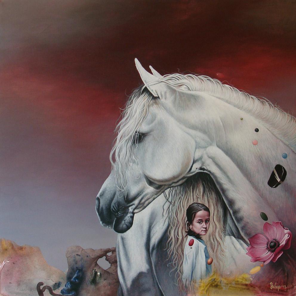 Mala-Dunja Di Vogo | contemporary, megic realism, hyperrealism, surrealism art for sale